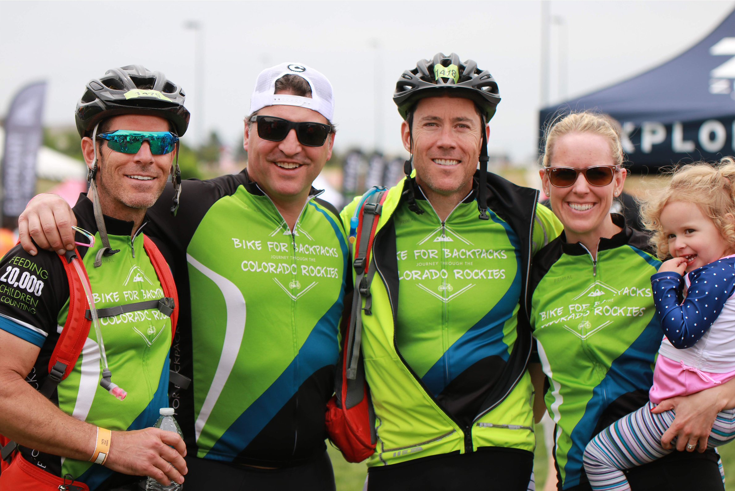 We will be riding to eliminate childhood hunger this Sunday at the Elephant Rock Cycling Festival.