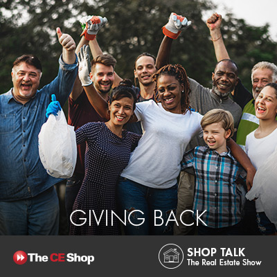 Giving back can help you grow your real estate business.