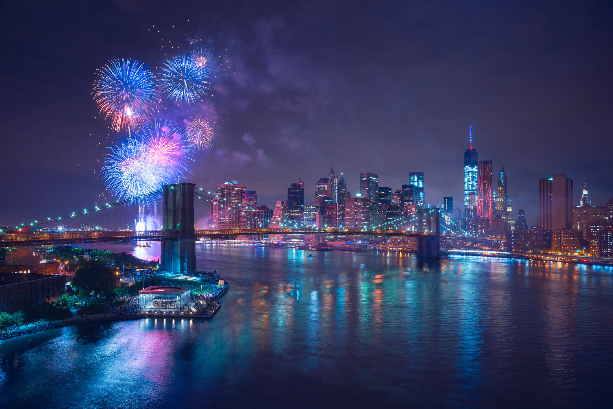 We're celebrating America the only way we know how: with an awesome list of the best firework displays in the country.