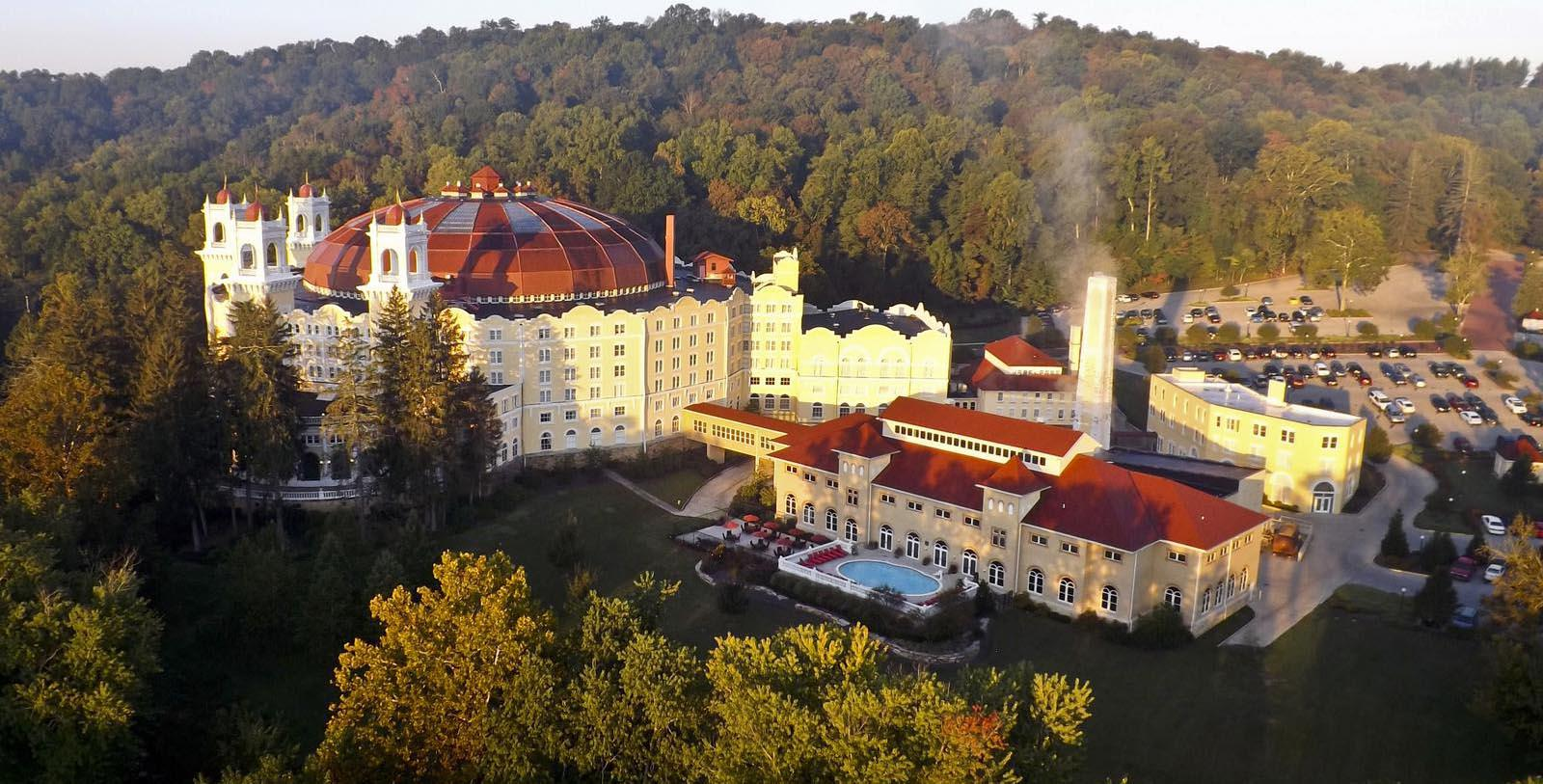 Freaky Nights at the French Lick Springs Hotel in Indiana