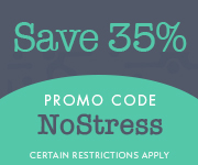 Save with promo code NOSTRESS