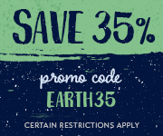 Save with promo code EARTH35