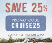 Save with promo code CRUISE25