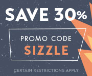 Save with promo code SIZZLE