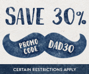 Save with promo code DAD30