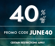 Save with promo code JUNE40
