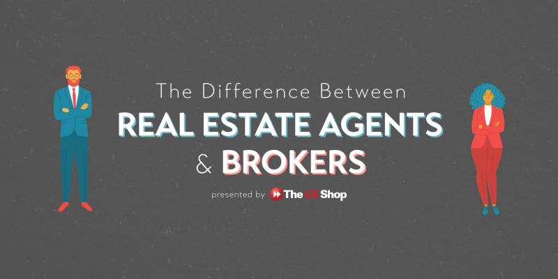 The Difference Between Real Estate Agents & Brokers