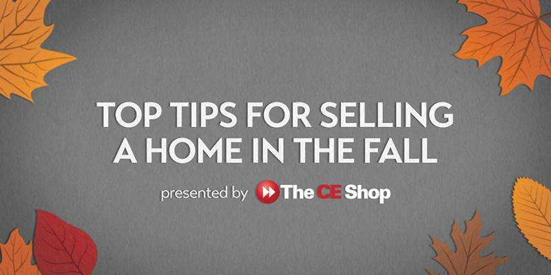 Top Tips for Selling a Home in the Fall