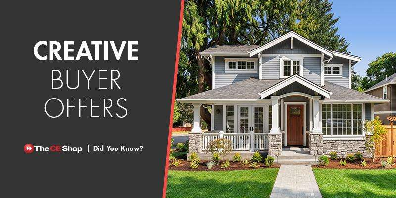Creative Buyer Offers in a Low-Inventory Market